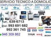 920409215 servicio tÉcnico de computadoras laptops