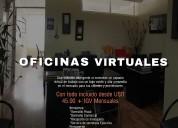 Alquiler de oficina virtual en el corazon