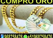 Compro oro al mejor precio del mercado