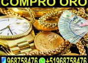 Compro oro en lima - perù - relojes - plata