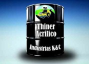 Venta de thinner acrilico llame ya !!!!