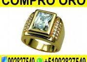Compro oro - plata - brillantes