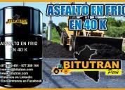 Bitutran peru sac te ofrecemos un buen asfalto