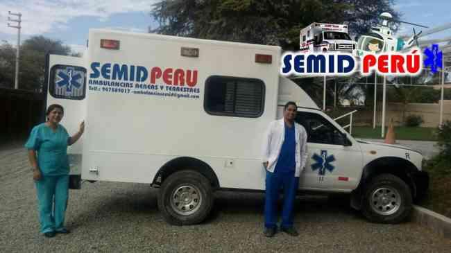 Ambulancias Chiclayo - Lambayeque