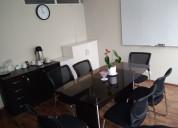 Alquilo oficina amoblada compartida en miraflores