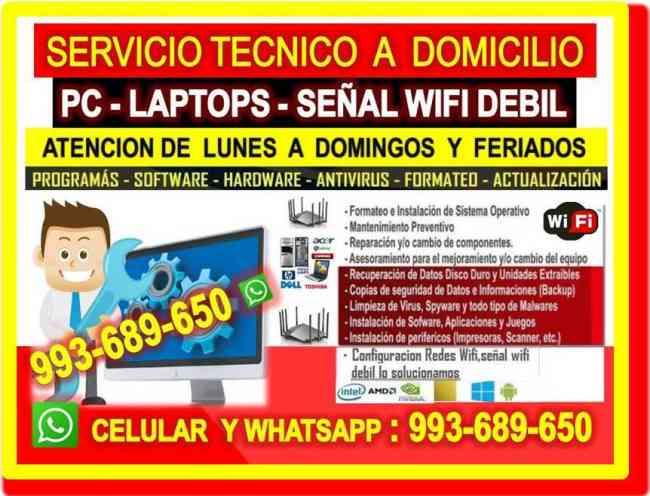 TECNICO INTERNET PC LAPTOPS CABLEADOS EN ZARATE
