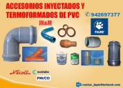 Venta de accesorios de pvc