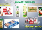 Delivery de arroz azucar y huevos