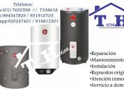 Servicio técnico de 7650598 termotanques rheem a g