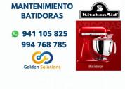 Reparacion de mantenimiento batidoras kitchen aid