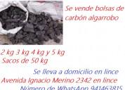 Carbon algarrobo en lince goyzueta