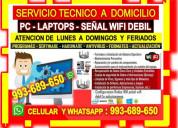 Tecnico repetidores wifi pcs laptops cableados