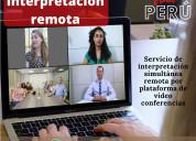 Cusco traducción remota o virtual diversos idiomas