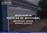 Resortes parÁ puertas levadizas seccionales