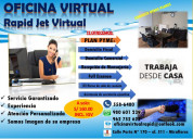 Alquiler de oficina virtual en miraflores
