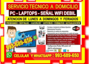 Tecnico pcs repetidores wifi laptops cableados