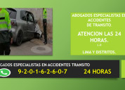 Abogados especialistas en accidentes de transito