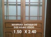 Puertas antiguas de caoba vendo