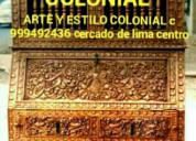 BargueÑos coloniales vendo cercado de lima peru