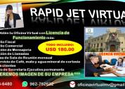 Alquiler de oficina virtual mas licencia funcionam