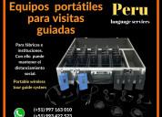 ✅ equipos inalámbricos visitas guiadas lima /piura
