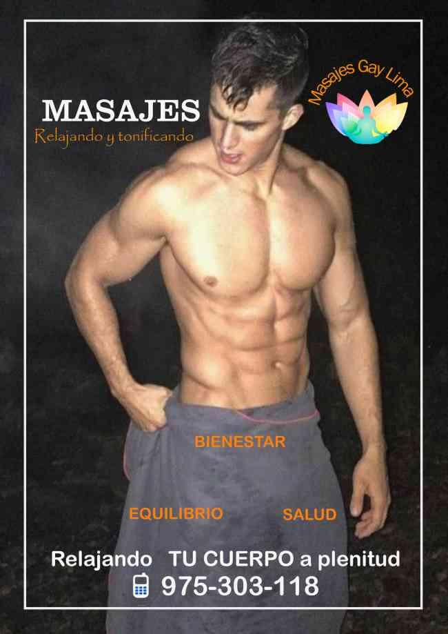 ¡ MASAJES GAY LIMA !  hecho por hombres relax