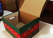 Caja navidad lima