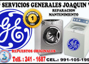 Mantenimiento general electric lavadoras, secadora