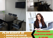 Dirección fiscal y comercial para tu empresa