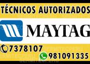 Con garantía, servicio técnico de secadora maytag