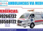 Ambulancias en chiclayo via medica