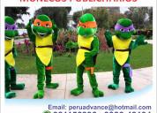 Muñecos publicitarios de espuma para eventos