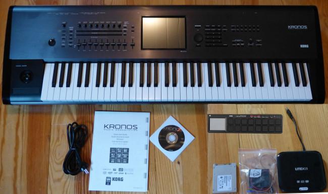 Teclas Korg OASYS, Korg Kronos, Yamaha Genos