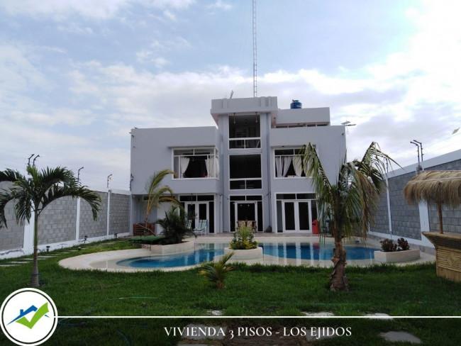 CASA EN VENTA -  LOS EJIDOS, PIURA