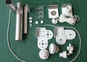 Reparacion - arreglo de rieles de cortinas rollers