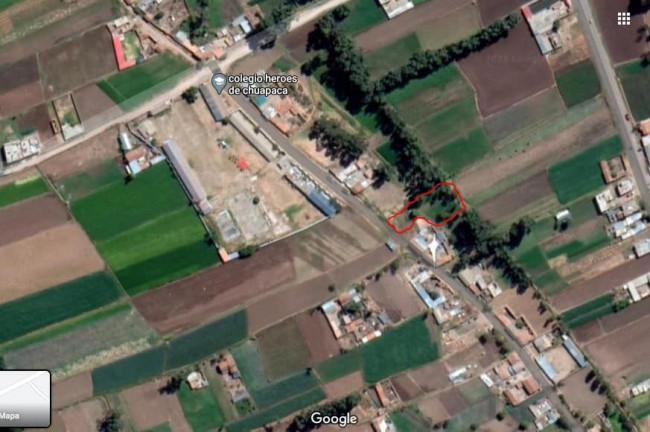 Se vende terreno en Chupaca- Vista Alegre !!!!!!