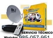 Servicio técnico antena directv 985057951