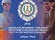 Escuela de seguridad y detectivismo
