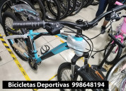 Bicicletas deportivas montañeras aro 29