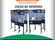 Peru advance  tablero de memoria