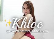 Khloe latina con muchas curvas