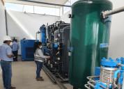 Fabricacion de plantas generadoras de oxigeno