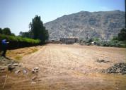 Vendo terreno guayabo pachacamac
