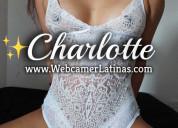 Charlotte linda y juetona