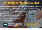 Vendedores freelancer (libres)
