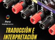 Perú interpretación .equipos para eventos lima