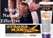 Strongman crema aumento simple,natural,efectivo