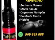 Yohimbina activo del deseo femenino /013338799