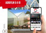 Agrofilm calibre 6 8 y 10