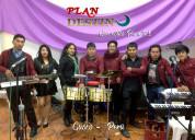 Grupo musical plan destino ameniza eventos